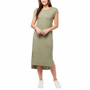 NWT Jessica Simpson Ladies' Midi Dress, Green,